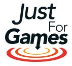 Logo jeux pc simulation justforgames.com